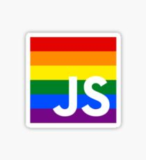 JavaScript Pride Sticker