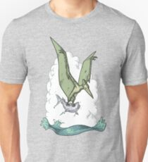 Green Pterodactyl T-Shirt