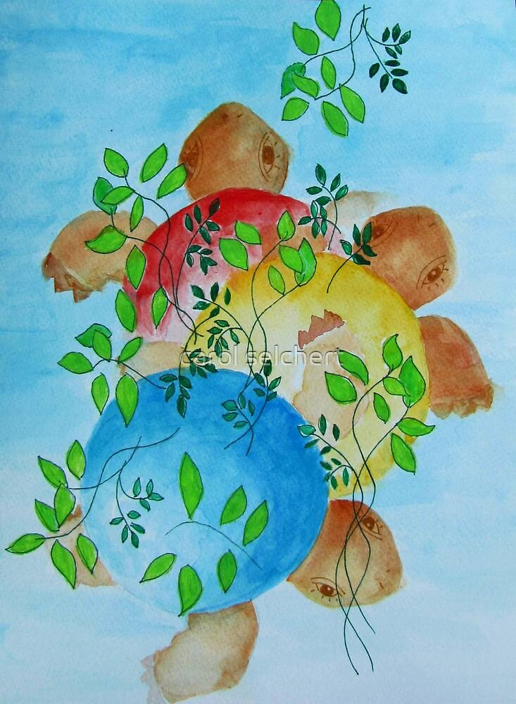 turtles by carol selchert