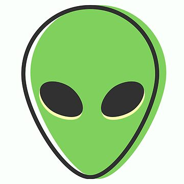 Retro minimal alien Sci Fi by happinessinatee
