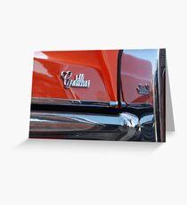 Cadillac 1966 Greeting Card