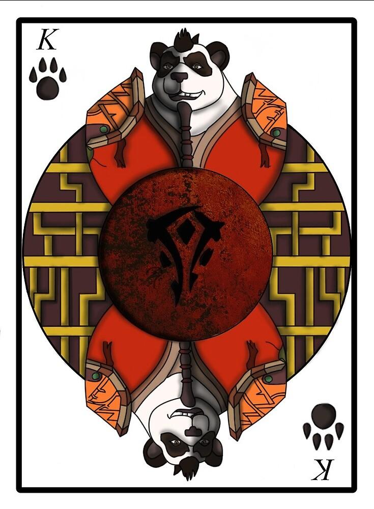 Ji Firepaw playing card by WolfMasterXV