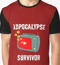 Adpocalypse Survivor Graphic T-Shirt