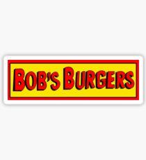 Bobs Burgers Logo Sticker