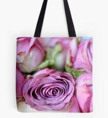 faded roses Tote Bag