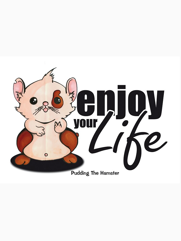 Pudding the hamster - enjoy your life by andy2003