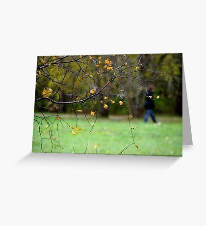 Riverside park Greeting Card