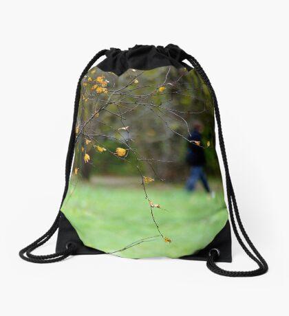 Riverside park Drawstring Bag