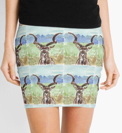 Greater Kudu (Tragelaphus strepsiceros) Mini Skirt