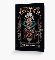 Zoltar - Show you a glimpse into your future Greeting Card