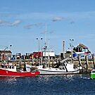 Rockland Harbor by Monnie Ryan