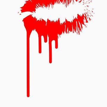 Bleeding Kiss by youngsam