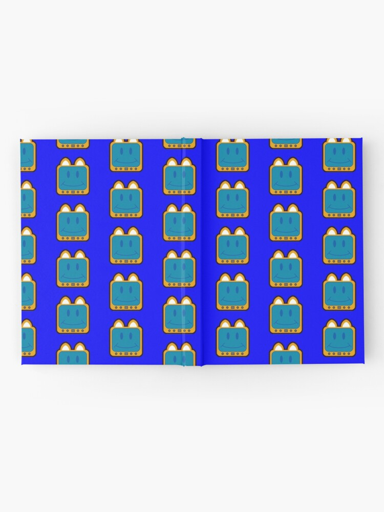Alternate view of Television Kitty Smiling Hardcover Journal