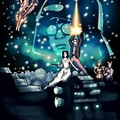 Spaceballs The Movie Poster by LVBART