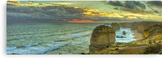 Great Ocean Road: Twelve Apostles by Lawrie McConnell