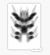 glass insect Sticker
