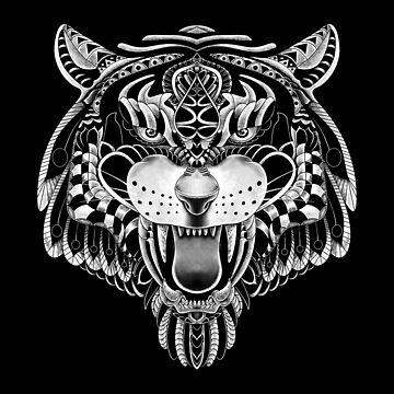 Tigre adornado de quilimostock