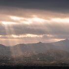 Panoramic SunRays by Ralph Goldsmith