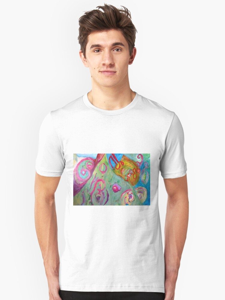 Abstract Landscape Unisex T-Shirt Front