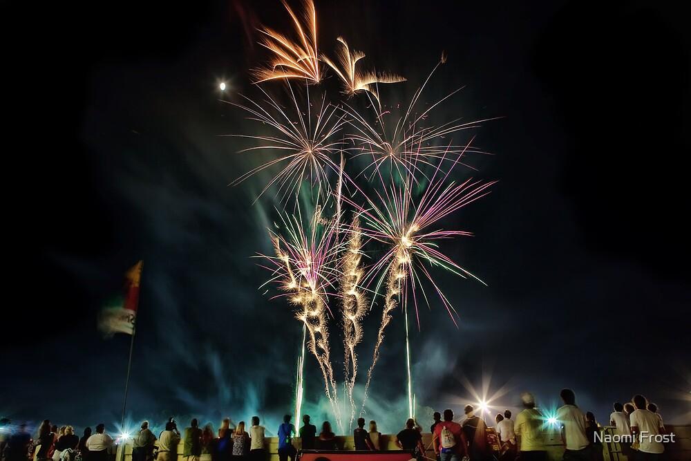 Newcastle Show Fireworks by Naomi Frost