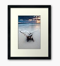Bribie Island, Queensland Framed Print