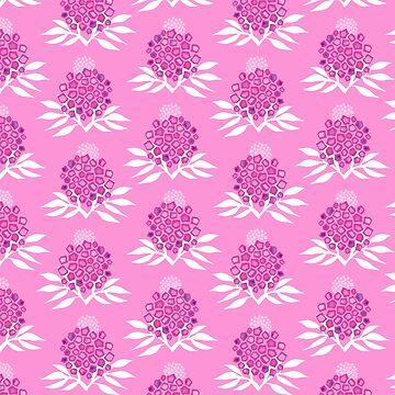 Pink Floral by marketastengl