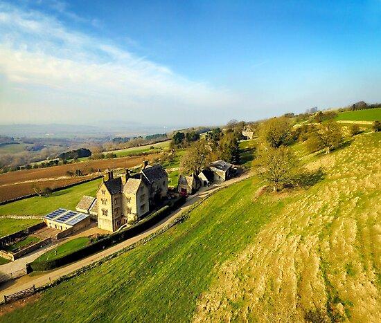 Cotswold Landscape by ScenicViewPics