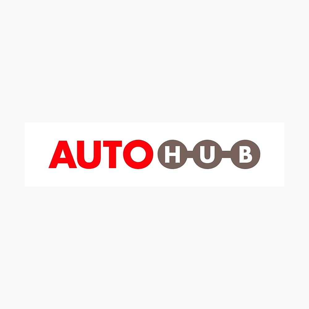 Autohub Fotodruck