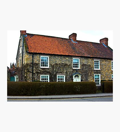 Helmsley Cottages #2 Photographic Print