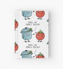 ¿Bailamos salsa? Le dice la olla al tomate Cuaderno de tapa dura