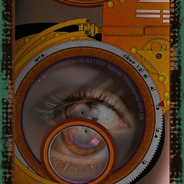 eye as a lens - steampunk variations by dennis-gaylor