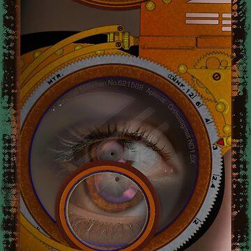 eye as a lens - steampunk variations by dennis-gaylor