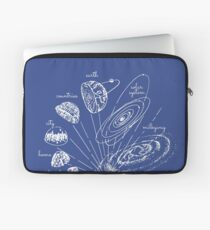 Blueprint to the cosmos Laptop Sleeve