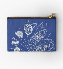 Blueprint to the cosmos Studio Pouch