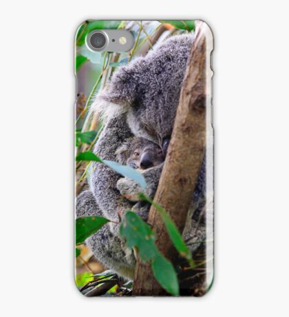 Mama cuddles are the best... iPhone Case/Skin