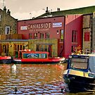 Canalside Bar  - Skipton by Trevor Kersley