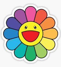 Takashi Murakami glückliche Blume Sticker