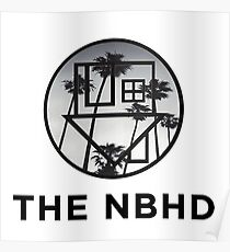 The Neighbourhood Palm Tree Print The NBHD Band Shirt Poster
