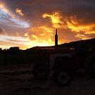 Flaming sunrise.... by Karlientjie