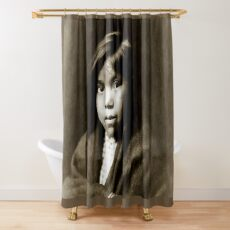 A Navajo Girl, New Mexico, North America 1904 Shower Curtain