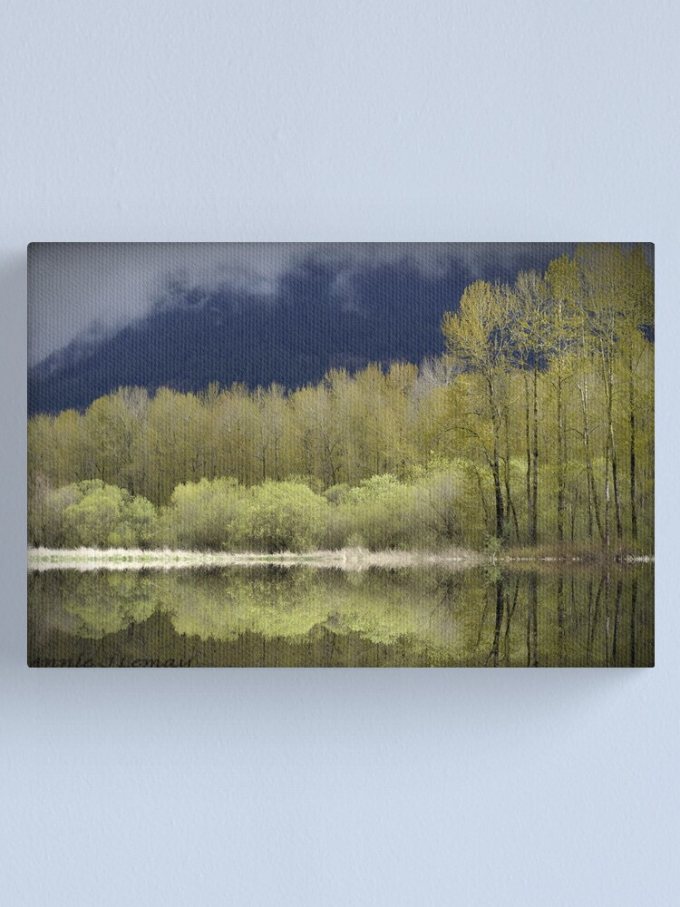 Alternate view of Trees of Spring Canvas Print