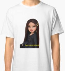 "Bratz ""Run Me My Check"" Jade Doll Classic T-Shirt"
