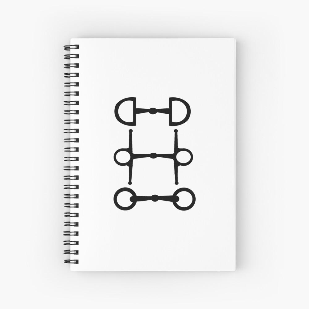Minimalistische Trense Spiralblock