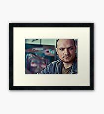 36 Framed Print
