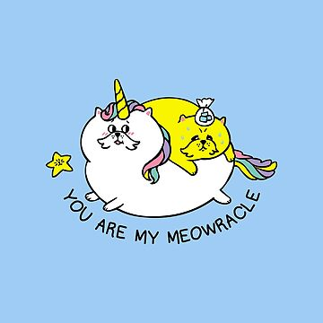 You are my meowracle by Huebucket