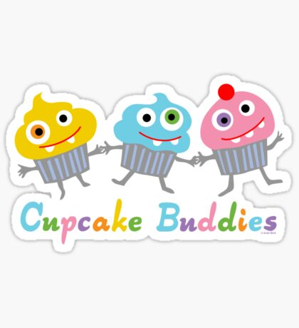 Cupcake Buddies Sticker