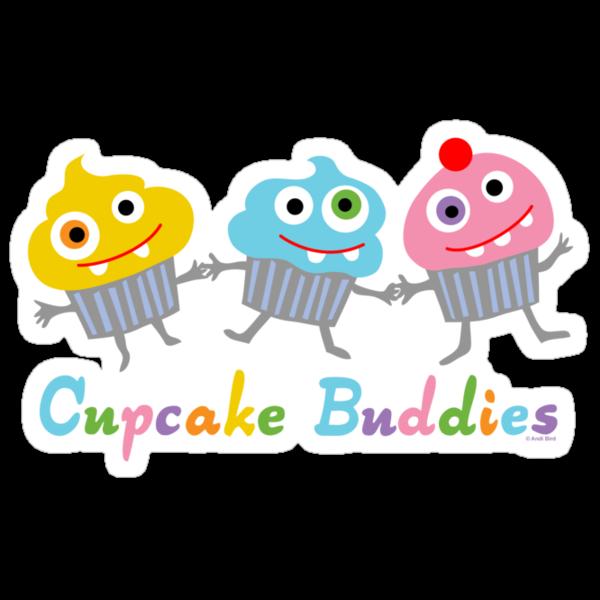 Cupcake Buddies by Andi Bird