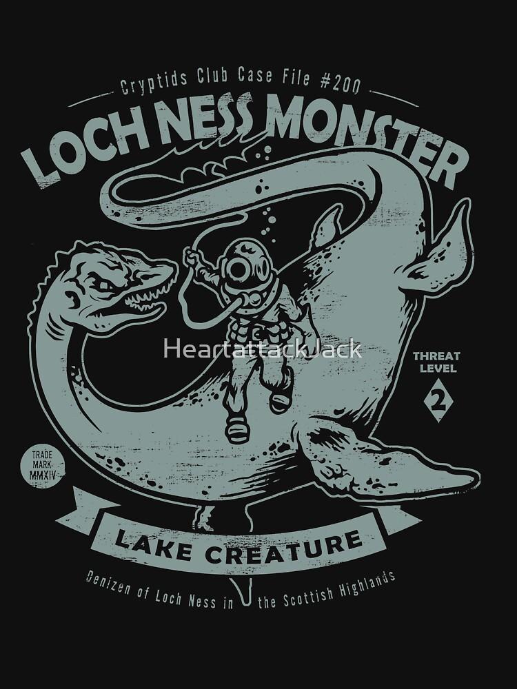 Lochness Monster - Cryptids Club Fall # 200 von HeartattackJack