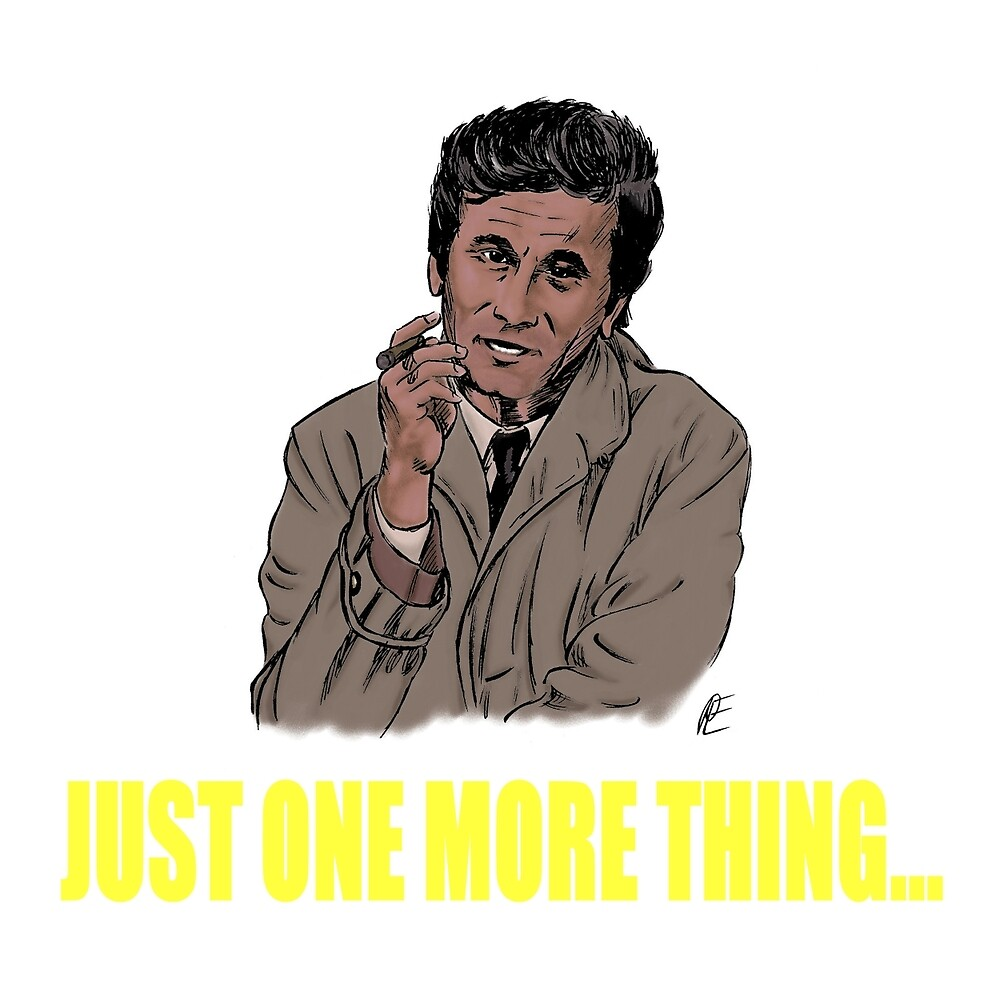 Columbo by kerchow