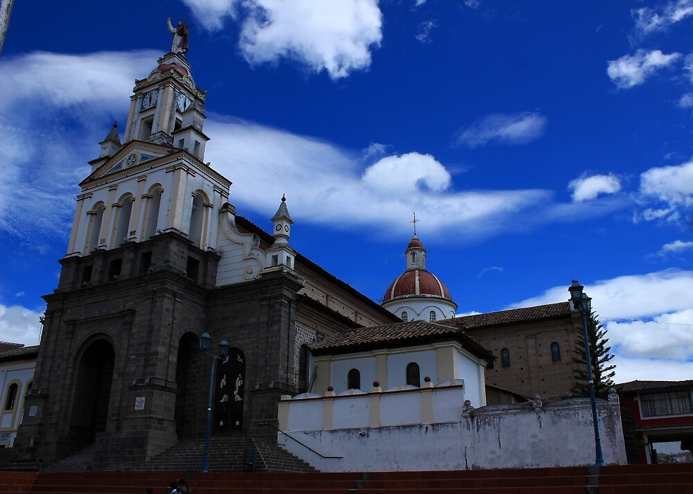 La Matriz Catholic Church in Cotacachi by rhamm